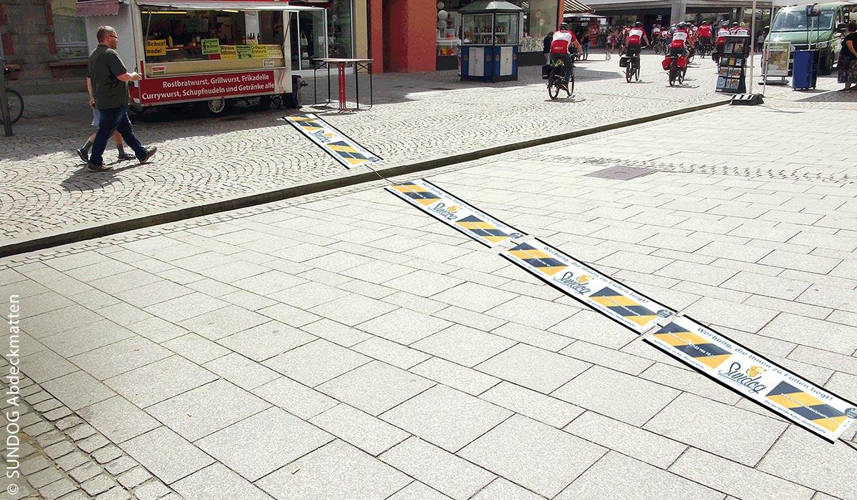Ideal ist eine möglichst flächendeckende Abdeckung der über Straßen und Wege verlaufenden Kabel.