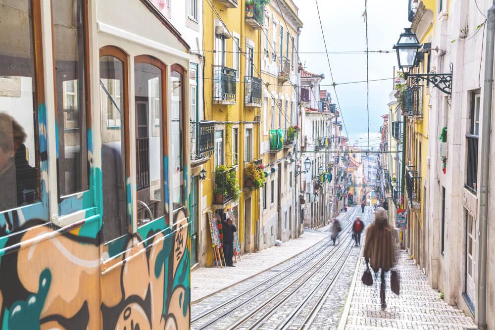 Lisbon Sightseeing Bairro Alto Neighborhood