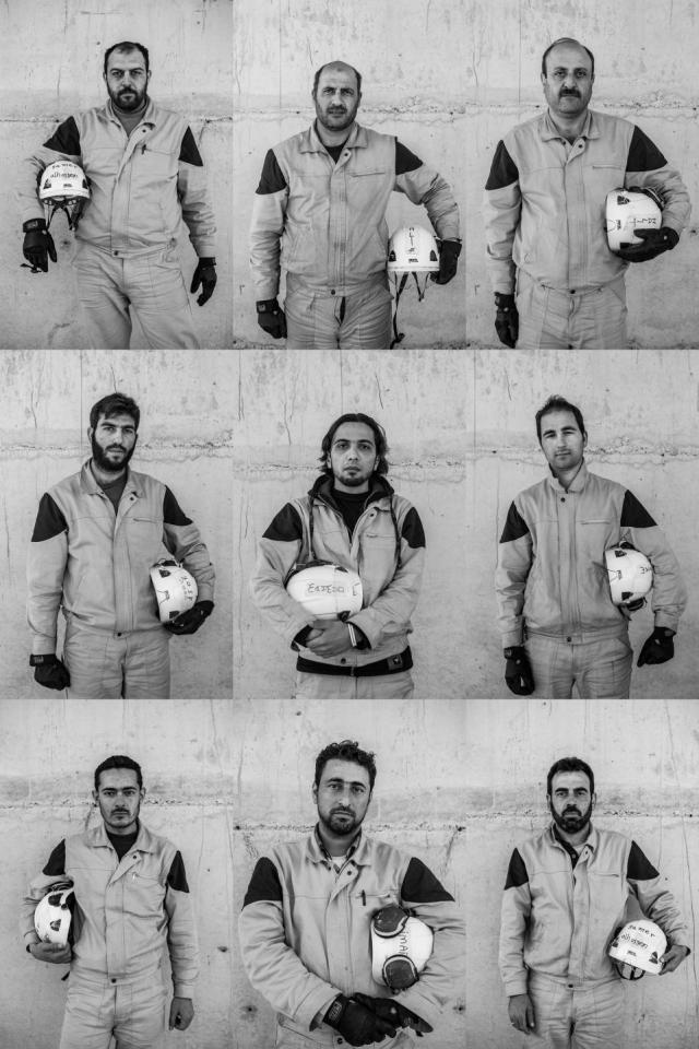Matilde beundrer… White Helmets