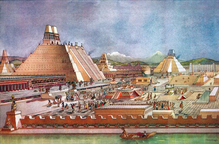 Las causas de la caída de Tenochtitlan