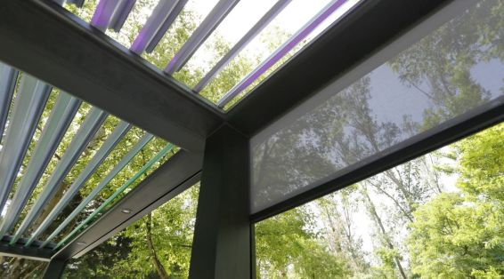 стеклянные шторки Biossun BIO 180