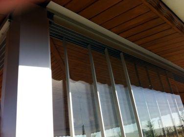 сдвижные двери стеклянные SLIDING TRACK