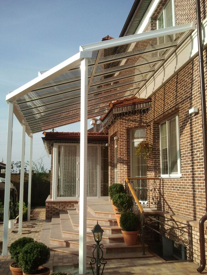 навес TS Aluminium, крыша Veranda T