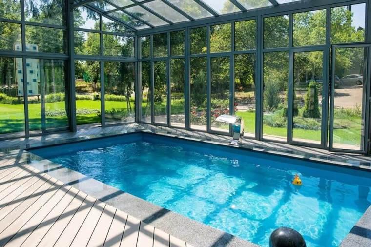 Зимний сад с композитным бассейном - №2