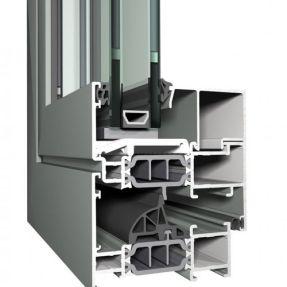 окна с алюминиевым профилем