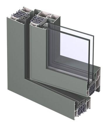 фото профиля для алюминиевых окон и дверей