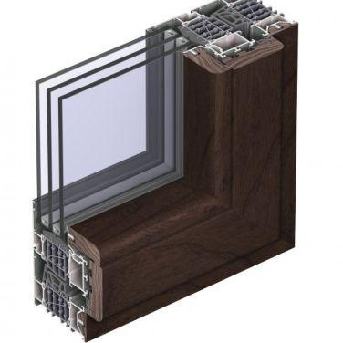 теплое алюминиевое окно