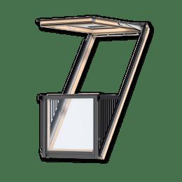 мансардные окна алюминиевые