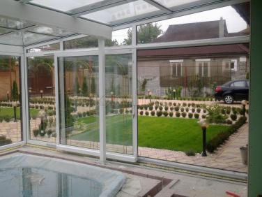 зимний сад бассейн