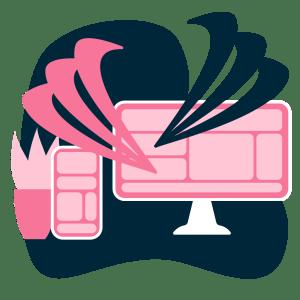 Webbdesign med gemensamt framtagna texter och bilder