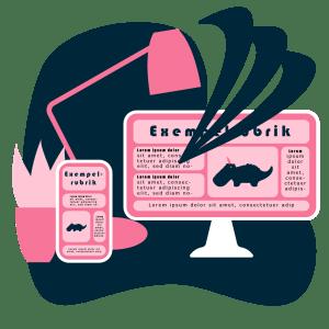 Webbdesign och innehållsutveckling