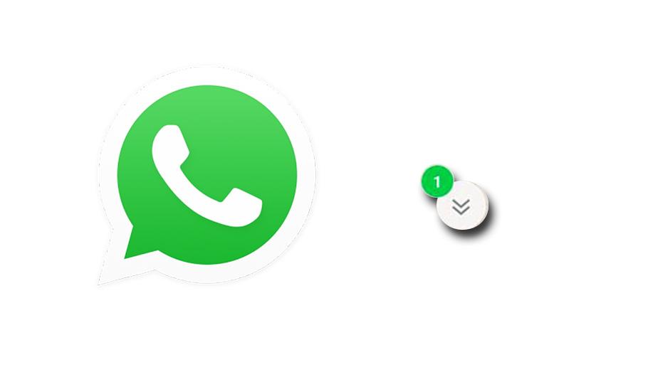 Сообщение от WhatsApp — «Читать позже»