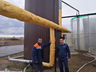 Подготовка к эксплуатации установки в зимний период