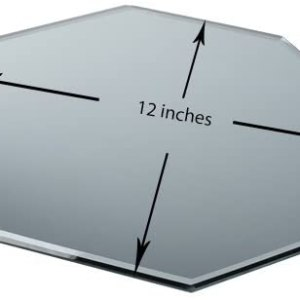 12″ Octagon Table Mirror