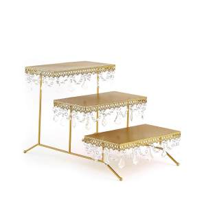 15″ Metal 3 Tiered Cupcake Stand