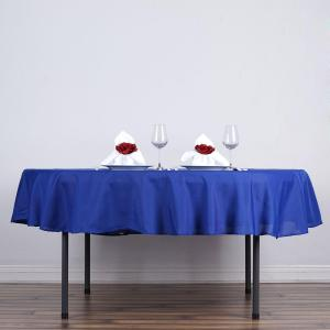 90″ Polyester Round Tablecloth