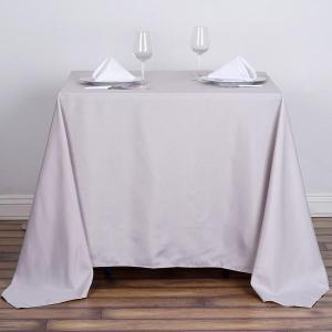 90″ Premium Square Polyester Tablecloth