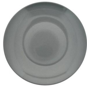10.5 in. Gray Stoneware Dinner Plate