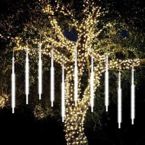12″ Clear LED Tube Icicle Lights
