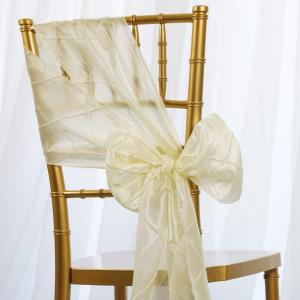7″x106″ Pintuck Chair Sash