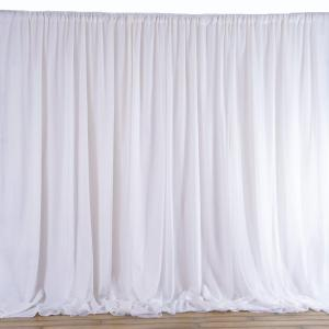 20FT x 10FT | Double Layer Polyester Chiffon Backdrop