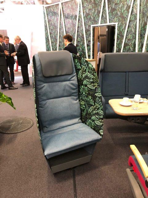 Fotel o strukturze kompozytowej