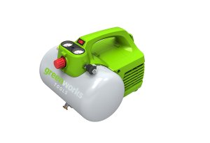 Greenworks 4101302 6L, 8 bar, 300W Kompressor