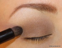 Faint, outer corner blended into crease