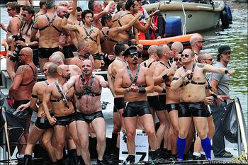 Amsterdam gay parade
