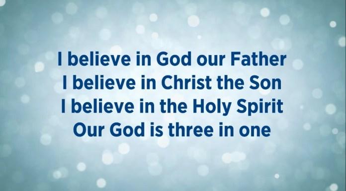 Allah Tritunggal-Credo