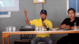 Zakaria Anwar (KPK) & M. Ali Amin Said (Pokdarwis Way Terjun)