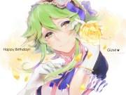 green hair gumi vocaloid