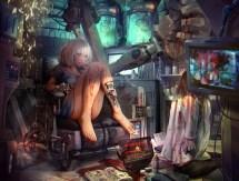 Anime Steampunk Girl