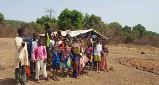 Guinée: Ces oubliés de la République au village de Yéguélin ont besoin de notre aide. Crédit photo: Alimou Sow