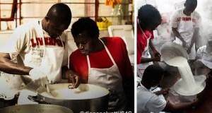 Le yaourt fabriqué au sein de la coopérative Barikamà est 100 % bio. Photo publiée sur le site Internet de Barikamà : http://barikama.altervista.org. Extrait de observers.france24.com