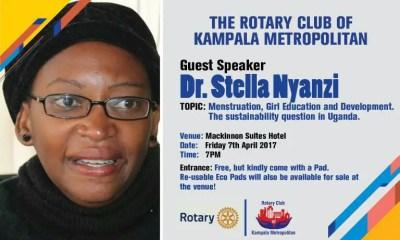 L'académicienne et critique du gouvernement ougandais Stella Nyanzi. Photo partagée sur sa page Facebook.