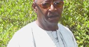 Bah Mamadou Lamine fils de victime et lui-même il fut kidnappé à Abidjan et transféré directement au camp Boiro. Photo extraite de sa page Facebook
