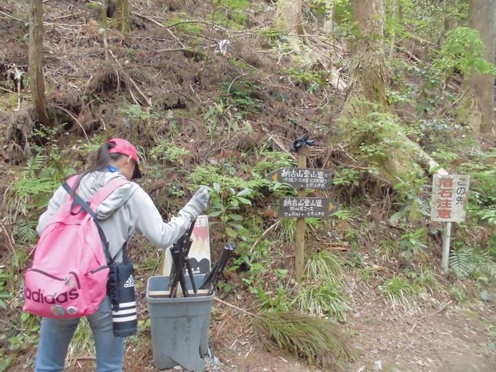 ボーイスカウト納古山登山
