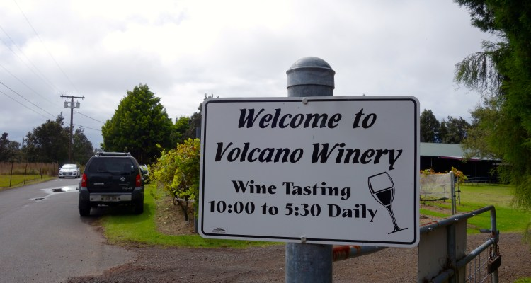 Volcano Winery / KonaNature.com / 1-844-566-2628