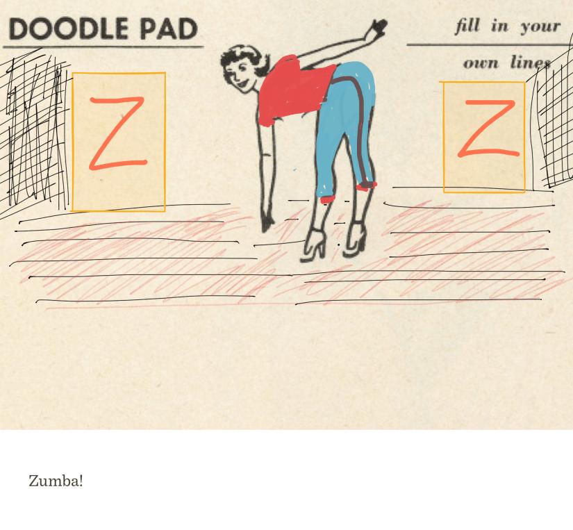 Zumba! Doodle