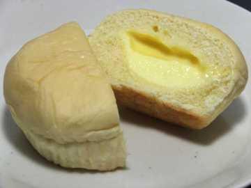 コンビニパンだ_こだわりの贅沢 たっぷりとろけるクリームパン【サークルKサンクス】Prime ONE_中身05
