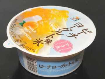 コンビニスイーツだ_ピーチヨーグルト味氷【セブンイレブン】外観00
