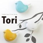 やさしい音色のドアチャイムTama,Tori