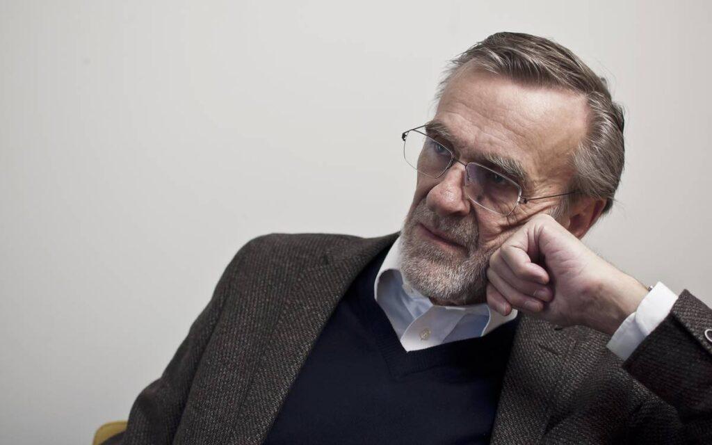 Koncertrejsens gæst, pianist og tidl professor, Erik Kaltoft