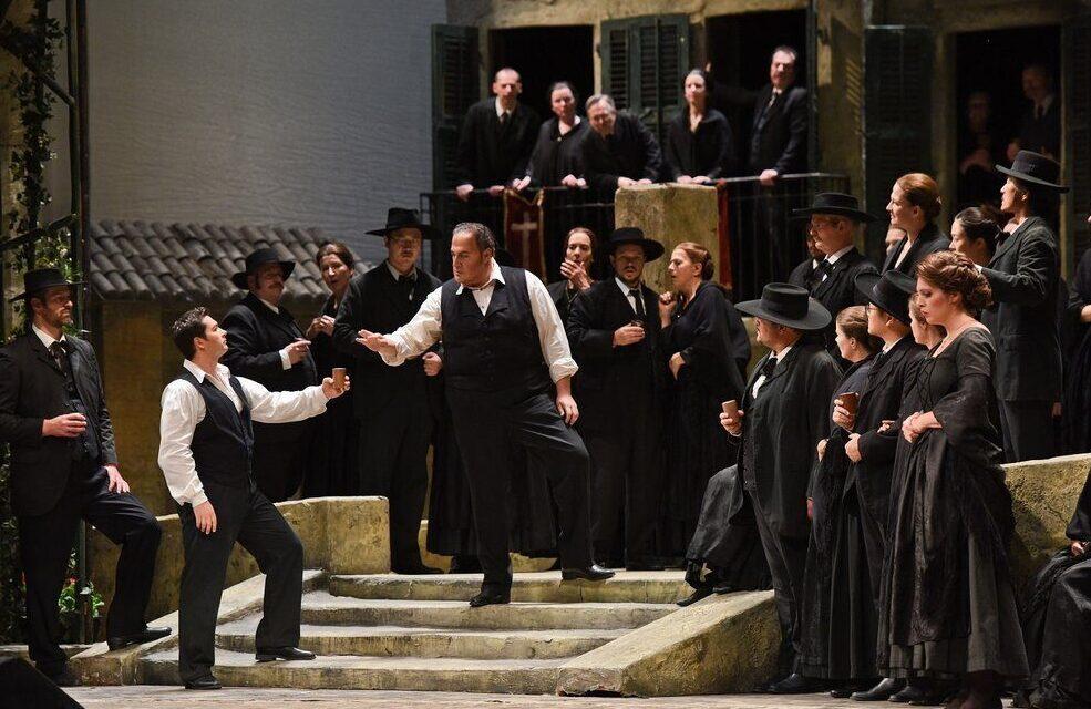 Koncertrejsen; Cavallaria Rusticana på Staatsoper Hamburg