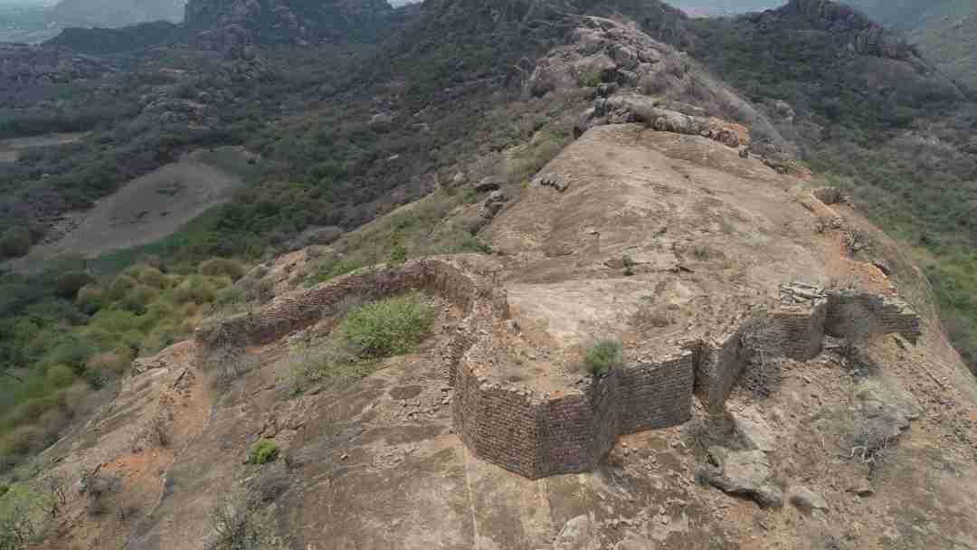 Nemalla Buruju-Largest of all Bastions-Complete View
