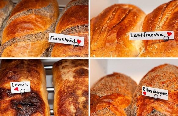 Konditori Valhall Bröd