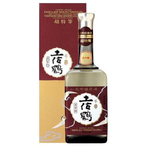 土佐鶴 大吟醸原酒 「天平印」
