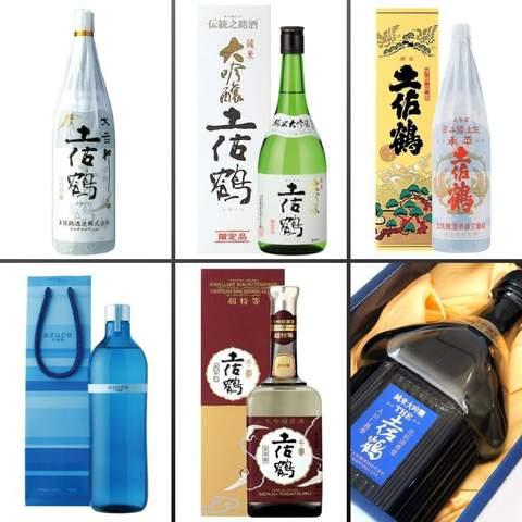 土佐鶴で人気のお酒