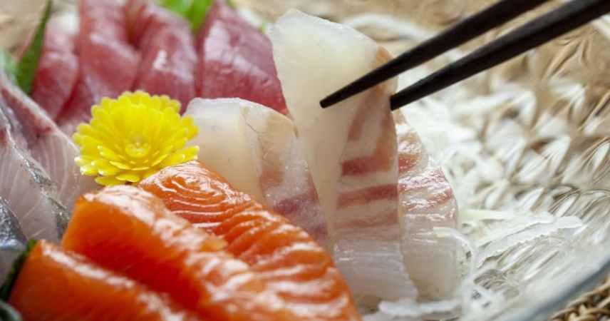 お造りや焼き魚